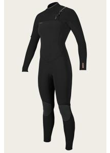 O'Neill Women's Hyperfreak 4/3+mm Chest Zip Wetsuit