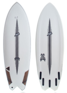 Lost 5'5 Hydra Fish Sufboard