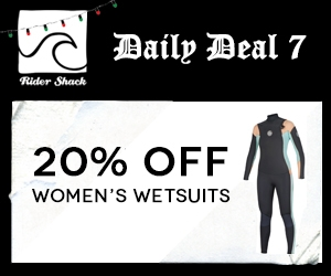 20% off Women's Wetsuits